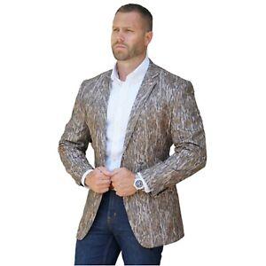Camouflage Sportcoat Camo Blazer Camo Suit Jacket Mossy Oak Bottomland Blazer