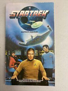 Star Trek 1 Paperback James Blush Novel, Vintage, 1984