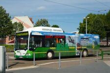 PHOTO  2012 GERMANY HARZ BUS HALBERSTADT ERDGAS BUS