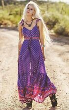 Vintage Spell & the Gypsy Collective Designs Sunset Road Frill Dress Royal Sz XS