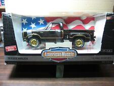 1978  Dodge  WARLOCK__Black__American Muscle__1:18 die Cast