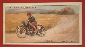 ISLE OF MAN  Senior TT Race 1929   Charlie Dodson Sunbeam    Vintage Card