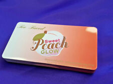 100% SWEET PEACH GLOW Highlighting Palette Illuminator Blush by Too Faced NEW