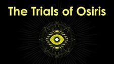 Destiny 2 trials of osiris one flawless run Season Of The Worthy PS4