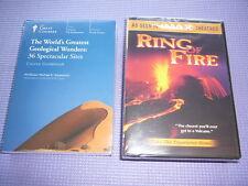 Teaching Co Great Courses DVD   WORLD'S GREATEST GEOLOGICAL WONDERS new + bonus