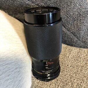 Soligor Zoom Macro Lens f=70-160mm 1:3.5 Made in Japan 55 No.9794234 MC Camera