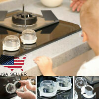 Safety 1st Universal Child Toddler Proof Clear View Oven Lock Stove Knob Cover