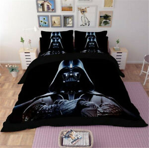 3PCS Star Wars Bedding Sets 3D Print Duvet Cover Quilt Cover Pillowcase Home