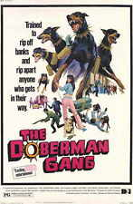 THE DOBERMAN GANG Movie MINI Promo POSTER Byron Mabe Hal Reed Julie Parrish