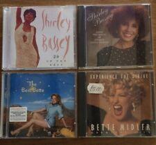 Shirley Bassey & Bette Midler CD Bundle