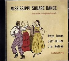 JONES, MILLER, and NELSON - MS SQUARE DANCE / OLD-TIME STRING BAND