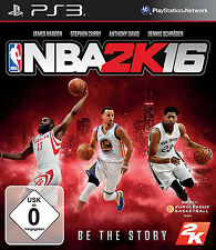 NBA 2k16/2016 pour playstation 3 ps3 | basket | article neuf | version allemande!