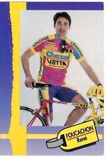 CYCLISME carte cycliste FOUCACHON RENE équipe CHAZAL 1993