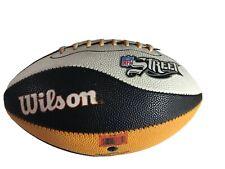 Wilson Nfl Street Video Game Football Orange Black & White F1763X