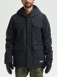 Brand New Mens 2021 Burton Covert Snow Jacket True Black