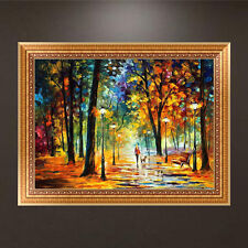 DIY 5D Diamond Painting Autumn Forest Embroidery Cross Stitch Home Decor Crafts