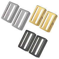 2pcs Two-line Humbucker Pickup Covers for Electric Guitar Replacement Parts