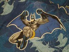 Batman DC  Comics Twin Flat Sheet Fabric Bedding  Boys Bedroom Children