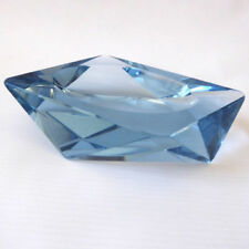 Crystal/Cut Glass Blue Date-Lined Glass