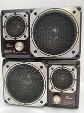 Vintage Kraco 2 Way Speaker System VCS-2000P Shelf Speakers Set of 2 Tested