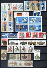 East-Germany/GDR/DDR: All stamps of 1986 in a year set complete, MNH