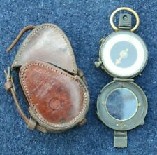 More details for ww1 british army officers 1917 verners vii compass &  named 1917 leather case