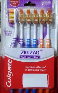 COLGATE ZIG ZAG TOOTHBRUSH PACK OF 6 DEEP CLEANING BETWEEN TEETH: