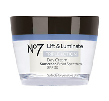 No7 Lift and Luminate Triple Action Day Cream 50ml with SPF 30