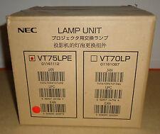 NEC ORIGINAL LAMP VT75LPE FOR PROJECTORS LT280 LT380 VT676E VT470 VT670 = NEW =