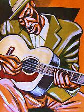 SKIP JAMES PRINT poster delta blues early recordings cd gibson J200 guitar