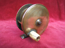 Farlow vintage brass game  fishing reel trout salmon working