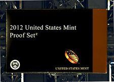 2012-s U.S. Clad 14 coin Proof set. 3 sets in 1. Proof Set, .25 set & $1 set