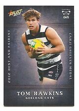 2013 Select Champions Tom hawkins Geelong Cats Best and Fairest BF7