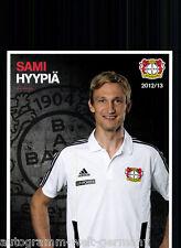 Sami Hyypiä Bayer Leverkusen 2012-13 2.Karte +A53034 OU