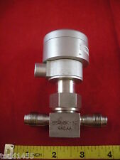 Nupro SS-4BK-1C Bellows Sealed Valve Fitting 1/4 in. Female VCR 9ACAA used