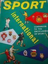 Vtg 1960 Book Sport International Encyclopaedia 3000 Illustrations & Quiz 1st Ed