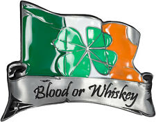 Blood or Whiskey Buckle gürtelschliesse en métal