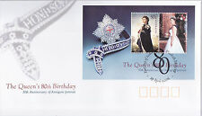 2006 Queen's 80th Birthday (Mini Sheet) FDC - Elizabeth SA 5112 PMK