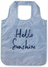 Kate Spade New York Reusable Nylon Shopping Tote Hello Sunshine NEW NWT