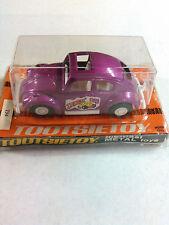 "Vintage Tootsietoy Volkswagen VW Beetle Stingin' Bug 4"" Long USA Sun Roof!! NIB"