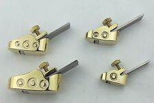 Wood working planes, 4 pcs new style various size mini brass planes