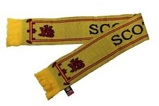Scotland Lion Rampant Country Flag Yellow Thick Scarf.Viva Souvenirs. New