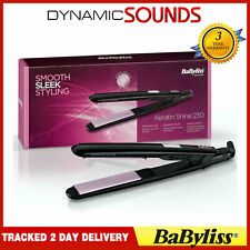 BaByliss 2079KU Keratin Shine 230c Hair Straightener with 5 Temperature Settings