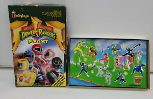 Vintage 1993 1994 Mighty Morphin Power Rangers Colorforms Play Set #779