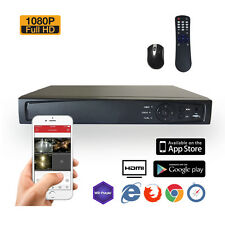 SVD 16CH DIGITAL SURVEILLANCE RECORDER HD-TVI 1080P H.264 TRUE-HD DVR W/ 2TB HDD