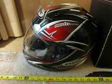 KBC Raceware Motorcycle Helmet, Force RR Blade red and black, size XL Nice!