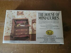 THE HOUSE OF MINIATURES CHIPPENDALE DESK CIRCA 1750-1790  KIT NEW SEALED # 40017