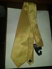 BIAGIO Collection Tie 100% Silk Handmade Yellow