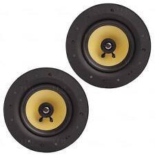 """Titan AV 8"""" In Ceiling Speaker 160 Watt Frameless - Pair"""