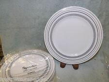 "SPODE China Kara pattern New with Tag 4 Bread Butter & 1 Salad Plate 9"" & 7.5"""